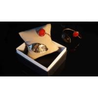 Getcho El İşi Bronz Sıvana Yaprak Figürlü Taşlı Bilezik - Mercan