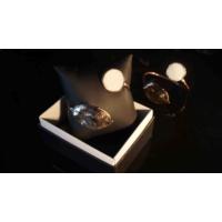 Getcho El İşi Bronz Sıvana Yaprak Figürlü Taşlı Bilezik - Sedef