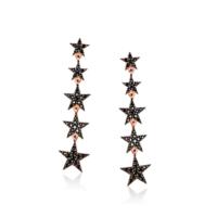 Ejoya Gümüş Yıldızlar Küpe