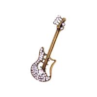 Hediyelik Gitar Şeklinde Broş Eskitme GBV