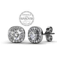 Monemel Swarovski® Taşlı Küpe (Altın Kaplama) E0288
