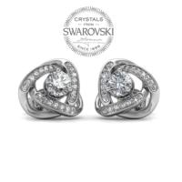Monemel Swarovski® Taşlı Küpe (Altın Kaplama) E0290