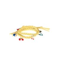 Bonalodi Lady Sarı Örgü Deri Bileklik