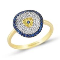 Altınbaş Nazar Yüzüğü Y24659-00-6823