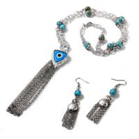 Ejoya Elia Nazar Accessories Doğal Taşlı Takım 49756