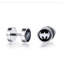 Ejoya Batman Çelik Erkek Küpe 73950