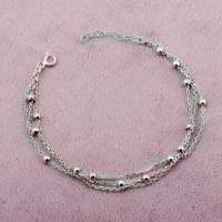 Sümer Telkari Trend Toplu Rodyumlu Gümüş Bileklik 1577