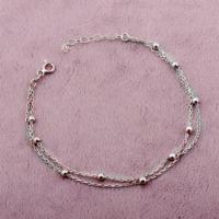 Sümer Telkari Trend Toplu Rodyumlu Gümüş Bileklik 1579