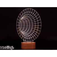 7/24 Hediye Dekoratif Sonsuzluk 3D Led Lamba Gece Lambası