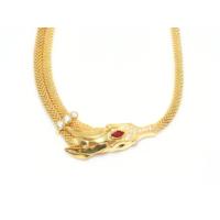 Nusret Taki 22 Ayar Altın Yeleli At Kafası Modeli Kolye