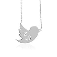 Soufeel 925 Ayar Gümüş Kuş İsim Kolye