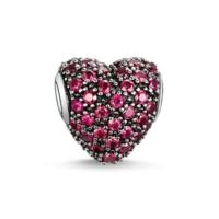Angemıel Kırmızı Kristal Kalp Charm İle Kendi Tarzını Yarat