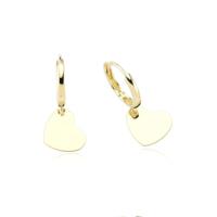 Glorria Altın Kalp Küpe Cm0514
