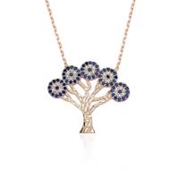 Glorria Gümüş Hayat Ağacı Kolye Dt0412