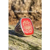 Tesbih1453 İsimli Erkek Gümüş Yüzük Kaligrafi Sanatı 28