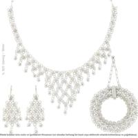Çağrı Gümüş Mardin Gümüş Telkari Set Kişniş