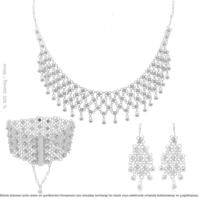 Çağrı Gümüş Midyat Gümüş Telkari Kişniş Set Takı