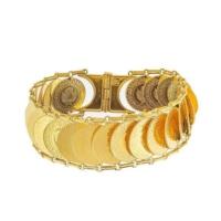 Bilezikhane Ziynet Çeyrekli Kaykay Bileklik 56,00 Gram 22 Ayar Altın