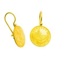 Bilezikhane Reşat Çeyrekli Küpe 4,30 Gram 22 Ayar Altın