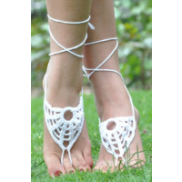 By Yuksel Ozkan Şık Beyaz Ayak Takısı Halhal Ayak Aksesuarı