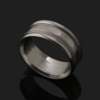 Cadde Takı Gümüş Alyans Cddgwbs000030