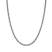 Tesbihevim Erkek Gümüş Kral Zincir Kolye Egk-014