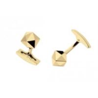 S.T. Dupont Altın Kaplama Kol Düğmesi 5200