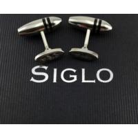 Siglo Accessory Siyah Çizgili Model Kol Düğmesi