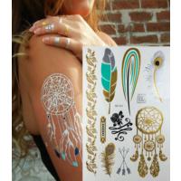 Leydika Flash Tattoo - Geçici Metalik Dövme 430