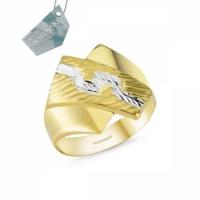 Sembolgold Altın Şık Tasarım Yüzük Sg42-018319 22