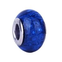 Angemiel Koyu Mavi Kristal Taşlı Murano Charm İle Kendi Tarzını Yarat