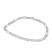 Silver Plus 3+1 Figaro Gümüş Bileklik