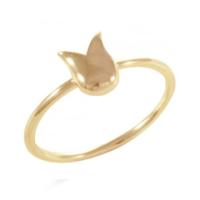 Goldstore 14 Ayar Altın Lale Figürlü Eklem Yüzüğü Grf36964 30