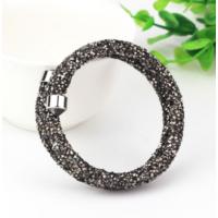 Monemel Swarovski® Taşlı Crystal Dust Bileklik - Siyah