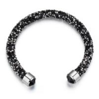 Monemel Swarovski®® Taşlı Crystaldust Bileklik - Siyah