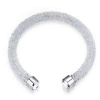 Monemel Swarovski® Taşlı Crystal Dust Bileklik - Beyaz