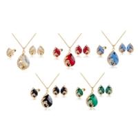 Roses'Color Kristal Tavuz Kuşu Takı Seti 8382