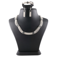 Akyüz Gümüş Mardin Hasırı Gümüş Set Sth012