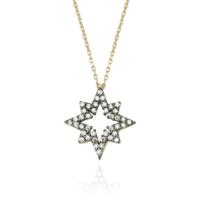 Glorria Altın Kutup Yıldızı Kolye Cm0522