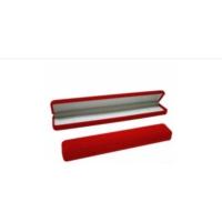 Şahin Gümüş Kırmızı Kadife Bileklik Kutusu