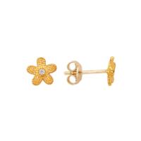 Altınsepeti Rose Altın Küçük Çiçek Küpe As244Kpr2