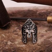 Sümer Telkari Miğfer Tasarım Gümüş Yüzük 744