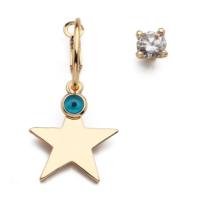 Modex Altın Kaplama, Yıldız Figürlü Nazarlı Küpe