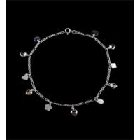 Akyüz Gümüş Zirkon Taşlı Gümüş Halhal Hl011