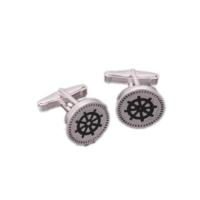 Denz Takı 925 Ayar Gümüş Klasik Model Kol Düğmesi