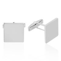 Denz Takı 925 Ayar Gümüş Kare Model Kol Düğmesi