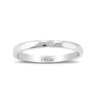 Divas Love 0,03 Ct Tektaş Alyans Yüzük