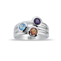 Divas Love Renkli Taşlı Yüzük