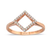 Divas Love Değerli Taşlı Geometrik Yüzük
