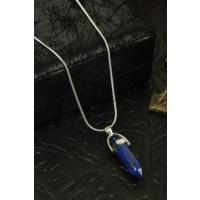 Dr Stone Doğaltaş Kadın Lapis Lazuli Kolye 24Hdr175